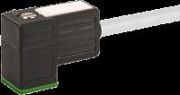CABO PVC 8MM 24VAC/DC DIODO ZENER+LED 2POLOS+TERRA CINZA 7M 780021-2160700