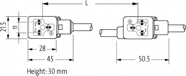 MSUD DOUBLE VALVE PLUG FORM BI 11MM