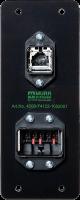 CONECTORES PUSH-PULL RJ45 E POTENCIA EM ESPELHO PARA PAINEL 474122-1002001