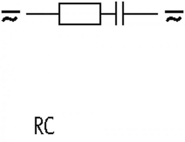 SUPRESSOR RC 230VAC/DC P/CONTATOR SIEMENS S2