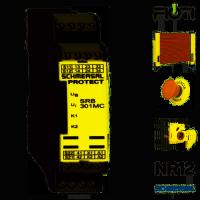 RELES DE SEGURANCA SRB 301MC-24V 13625403