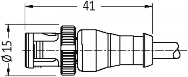 MQ12 MALE 0° / MQ12 FEMALE 90° 5P.