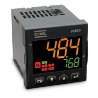 CONTROLADOR DE TEMPERATURA/ PROCESSO KM3P-HC0RRD-E RAMPA/PATAMAR 100 A 240 VCA - KM3P-HC0RRD-E