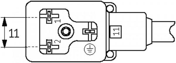 CABO PVC MSUD PLUG F