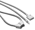 Fibra optica vidro com capa em aço inox 1800mm - Ø3,2mm LBST-321800