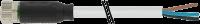 CABO PUR/PUR M8 ABERTO+FEMEA RETO 3POLOS CINZA 3M (CODIGO VELHO ME3813049) 708041-2200300