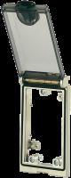MODLINK MSDD MOLDURA METALICA COM TAMPA PLASTICA SIMPLES 468213-0000000
