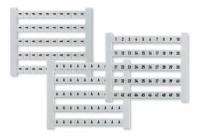 Marcador Dekafix Plástico 5 Fw 51-100 Branco Conexel DEK 5 FW 51-100