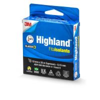 Fita Isolante Highland Preta Ate 750 V 19 Mm 20 M HB004171797 - 3M HB004171797