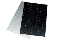 ALU 60x25 SW ELOX. R HF, schwarz eloxiert, Radius, haftend, 4x3,0mm, 8604146008
