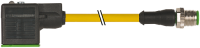 M12 MALE 0° / MSUD VALVE PLUG FORM A 18MM 7000-40931-0150150