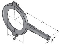R-SSR 234-1 15° clamp 83693207