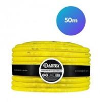 Mangueira Corrugada Adtex ½ 50m amarela