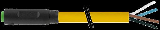 M8 FEMALE SNAP-IN 0°