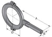 R-SSR D63 tension clamp UR3 83693201