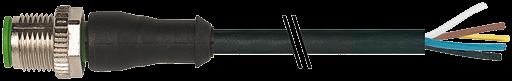 CABO M12 MR PVC 5P 5M