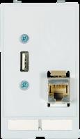 MODLINK MSDD INSERTO TOMADA RJ45+USBMB 468000-1310000