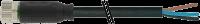 CABO PUR/PVC M8 ABERTO+FEMEA RETO 3POLOS PRETO 3M 708041-6200300