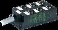 M12-DISTRIBUTOR BOX 6-WAY, 5-POLE WITHOUT LED 276842