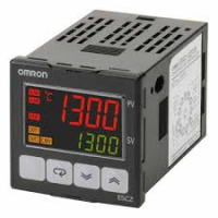 Controlador de temperatura 110/240Vac, saída rele, 2 alarmes E5CZ-R2T