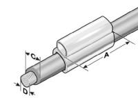 KTH 1/12 Kennzeichentülle, halogenfrei MP86221212