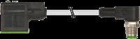 M12 MALE 90° / MSUD VALVE PLUG FORM A 18MM 7000-40901-2560100