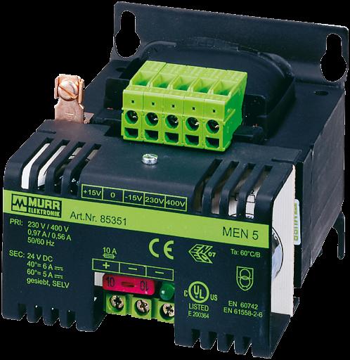 MEN - FONTE FILTRADA MONO 115-230VAC+-10V 24VDC 1A