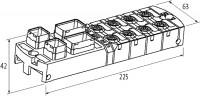 MVK-MPNIO F - PROFINET/PROFISAFE COMPACTO PUSH PULL ENTRADAS DIGITAIS 16/8 ME55562