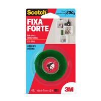 Fita Segurança Adesiva Dupla Face Incolor 19 Mm 2 M Fixa Forte HB004419881 - 3M HB004419881