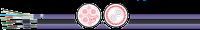 PROFIBUS DP FC-C PVC 150? UL/CSA (flexível) 1X2X0,64/7- rolo de 100 m 2003635