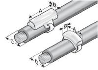 LUVA PLASTICA PARA IDENTIFICACAO DE FIOS KM 15/67 MP86321060