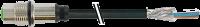 M12 female receptacle shielded rear mount 7000-13611-6010080