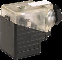 MSVS-CONECTOR 18MM 24V AC/DC DIODOZ+LED PG9 (CODIGO VELHO ME3129020) 729021-0000000