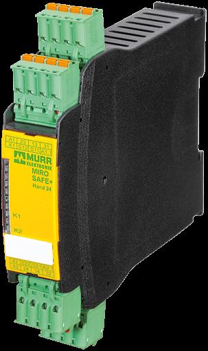 MIRO SAFE+ SWITCH ECOA 24 24 VAC/DC - 2 N/O CONTACT /1 PLC OUTPUT