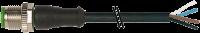 CABO PUR M12 MR+AB 4P PT 2M 712021-6240200