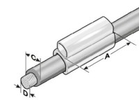 KTH 0/12 Kennzeichentülle, halogenfrei MP86221210