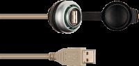 MSDD - CABO COM INSERTO USB 3.0 FORM A - COMPRIMENTO DO CABO: 1,5 METRO 4000-73000-0170000