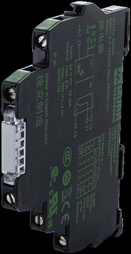 MOD RELE SAIDA-24VDC 250VCA 6A C/ CHAVE H/O/