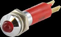 LED 24VDC 20MA VERMELHO PARA PAINEIS - LED 3 ME71405