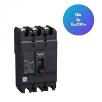 Disjuntor 15a 3p Ezc100n EZC100N3015